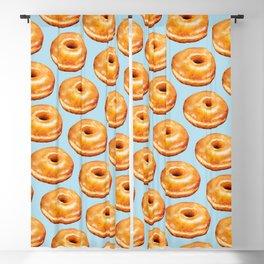Donut Pattern - Glazed Blackout Curtain