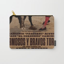 Hermosos y Bravos Toros Carry-All Pouch