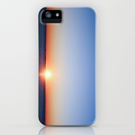 meep sunrise iPhone Case