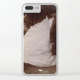 Loie Fuller Dancing by Samuel Beckett Clear iPhone Case