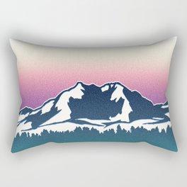 Olympic National Park Rectangular Pillow
