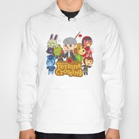 persona Hoodies featuring Persona Crossing by Cassie S