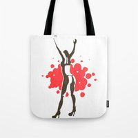 florence Tote Bags featuring Florence by Gabby Grife | GuinArt