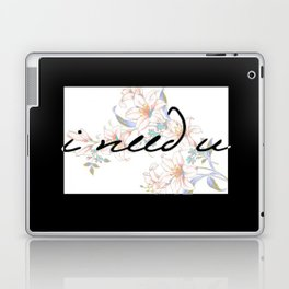 I need U (pale ver.) Laptop & iPad Skin