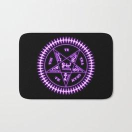 Sebastian Michaelis Sigil Light (black bg) Bath Mat