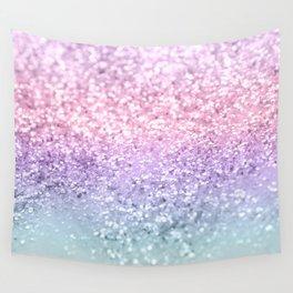 Unicorn Girls Glitter #1 #shiny #pastel #decor #art #society6 Wall Tapestry