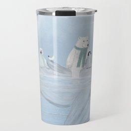 an arctic journey Travel Mug