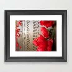 To all the Smiths of the world Framed Art Print