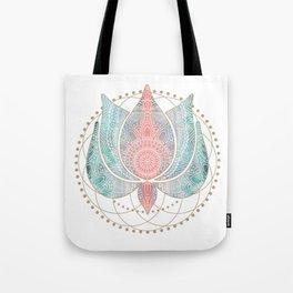 Yoga Lotus Tote Bag