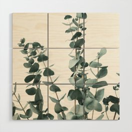 Eucalyptus Leaves Wood Wall Art