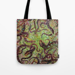 Snakes and Ladders Tote Bag