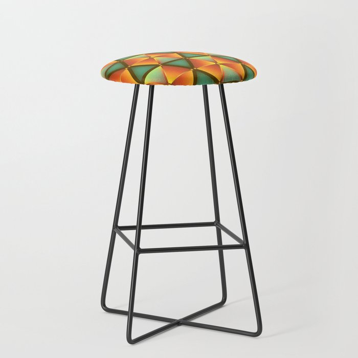 Abstract Background 26 Bar Stool By Shopability Society6
