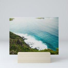 Makapuʻu Waves Mini Art Print
