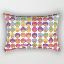 Afro Rainbows Rectangular Pillow