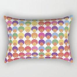 Afro Rainbows Rectangular Pillow