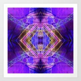 los angeles leisure 2 Art Print