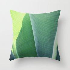 Plantain #1 Throw Pillow