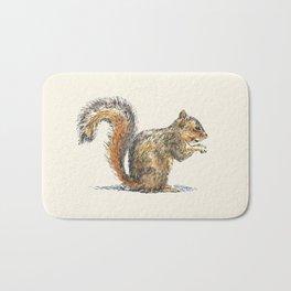 Sitting Squirrel Bath Mat