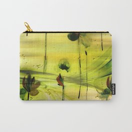 Dancing Flowers Abstract Carry-All Pouch
