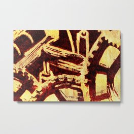 Industrious hell  Metal Print