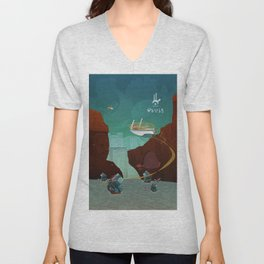 World of Tales Unisex V-Neck