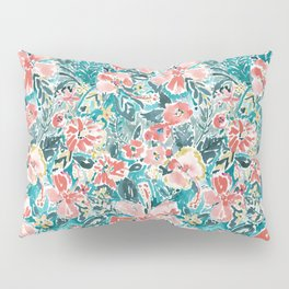 HELLO HIBISCUS - CORAL Pillow Sham