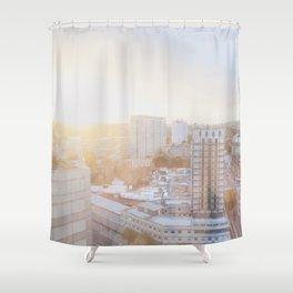 LONDON TOWN Shower Curtain