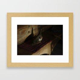 A jig duck Framed Art Print