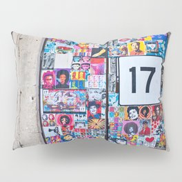 The Secret behind the Door Number 17 of Catania - Sicily Pillow Sham