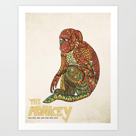 The Monkey Art Print