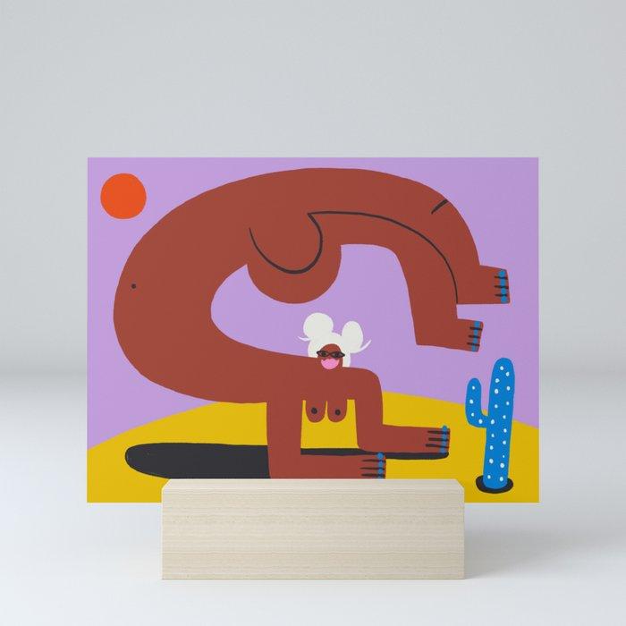 Passion & Power Ready to Strike Mini Art Print