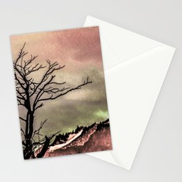 Fantasy Landscape Illustration Stationery Cards