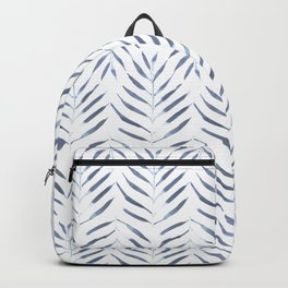 Palm Trees in blue Backpack
