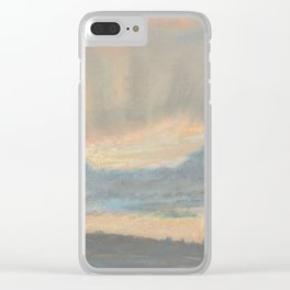 Sunset by Eugène Delacroix ca.1850, French Clear iPhone Case
