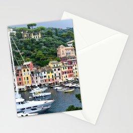 Portofino Harbour Italy Stationery Cards