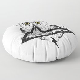 Owls and Wizardry Floor Pillow