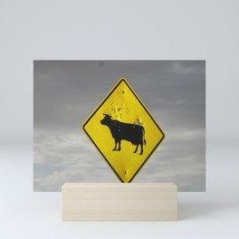 Pow Pow Cow Mini Art Print