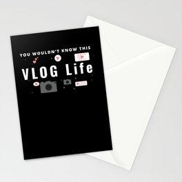 Vlog Life Stationery Cards