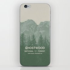 Ghostwood National Forest Twin Peaks iPhone Skin