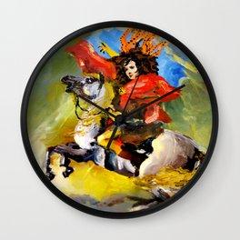 ashcloud goddess Wall Clock