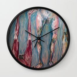 Les Mannequins Wall Clock