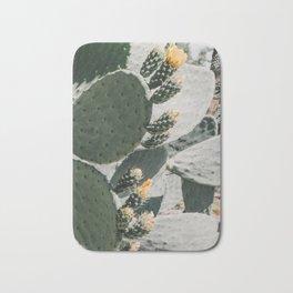 flowering cactus i Bath Mat