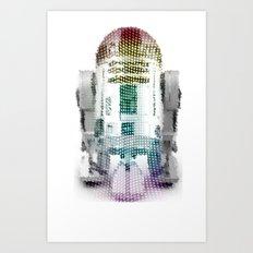 UNREAL PARTY 2012 R2D2 R2-D2 STAR WARS Art Print