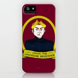 General Hux: Crush the Loathsome Resistance iPhone Case