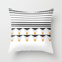 Tribal Lou Throw Pillow