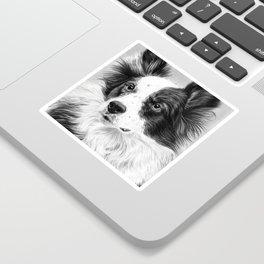 Dog Portrait 02 Sticker