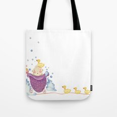 Baby bath Tote Bag