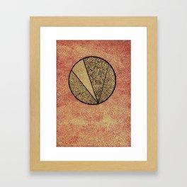 Ista quidem vis est! Framed Art Print