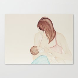 Womanly Art of Breastfeeding  Canvas Print