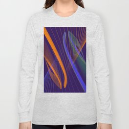 curved lines in architecure Long Sleeve T-shirt